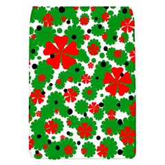 Red and green Christmas design  Flap Covers (S)