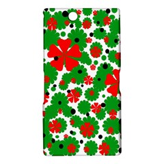 Red and green Christmas design  Sony Xperia Z Ultra