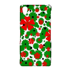 Red and green Christmas design  Sony Xperia Z2