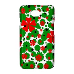 Red and green Christmas design  LG Optimus L70