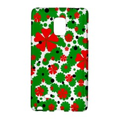 Red and green Christmas design  Galaxy Note Edge