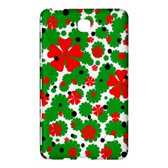 Red and green Christmas design  Samsung Galaxy Tab 4 (8 ) Hardshell Case