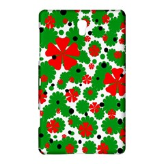 Red and green Christmas design  Samsung Galaxy Tab S (8.4 ) Hardshell Case