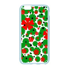 Red and green Christmas design  Apple Seamless iPhone 6/6S Case (Color)
