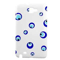 Mediterranean blue eyes Samsung Galaxy Note 1 Hardshell Case