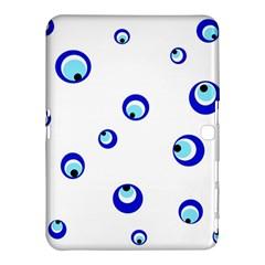 Mediterranean blue eyes Samsung Galaxy Tab 4 (10.1 ) Hardshell Case