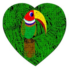 Toucan Jigsaw Puzzle (heart)
