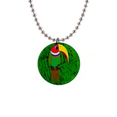 Toucan Button Necklaces