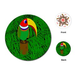 Toucan Playing Cards (Round)