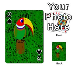 Toucan Playing Cards 54 Designs