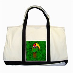 Toucan Two Tone Tote Bag