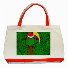 Toucan Classic Tote Bag (Red)
