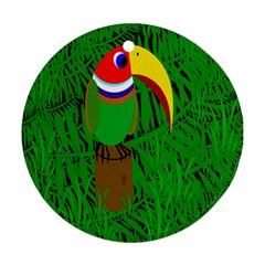 Toucan Round Ornament (Two Sides)
