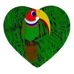 Toucan Heart Ornament (2 Sides)