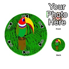 Toucan Playing Cards 54 (round)