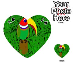 Toucan Playing Cards 54 (Heart)