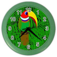 Toucan Color Wall Clocks