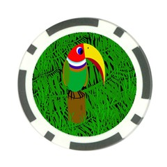 Toucan Poker Chip Card Guards
