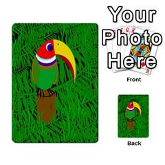 Toucan Multi-purpose Cards (Rectangle)