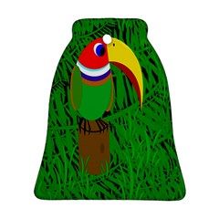 Toucan Bell Ornament (2 Sides)