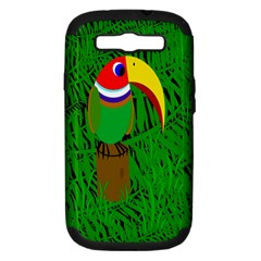 Toucan Samsung Galaxy S III Hardshell Case (PC+Silicone)