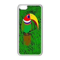 Toucan Apple iPhone 5C Seamless Case (White)