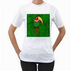 Toucan Women s T-Shirt (White)
