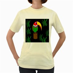 Toucan Women s Yellow T Shirt
