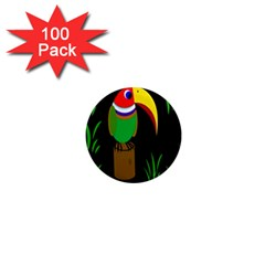 Toucan 1  Mini Magnets (100 pack)