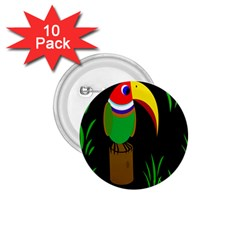 Toucan 1 75  Buttons (10 Pack)