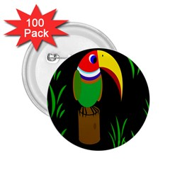 Toucan 2 25  Buttons (100 Pack)