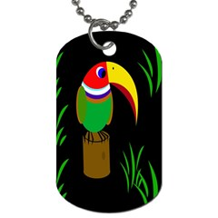 Toucan Dog Tag (One Side)
