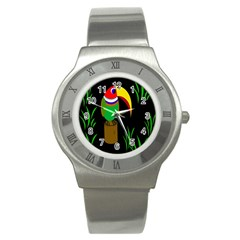 Toucan Stainless Steel Watch