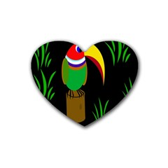 Toucan Heart Coaster (4 pack)
