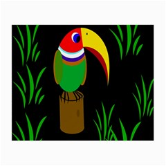 Toucan Small Glasses Cloth (2-Side)