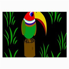 Toucan Large Glasses Cloth (2-Side)