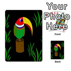 Toucan Multi-purpose Cards (Rectangle)