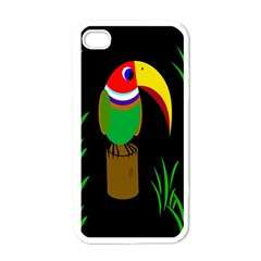 Toucan Apple iPhone 4 Case (White)