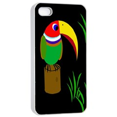 Toucan Apple iPhone 4/4s Seamless Case (White)