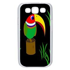 Toucan Samsung Galaxy S III Case (White)