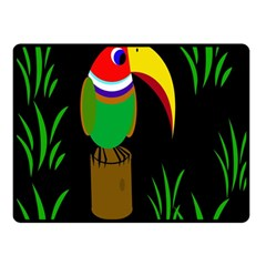 Toucan Double Sided Fleece Blanket (Small)