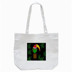 Toucan Tote Bag (white)