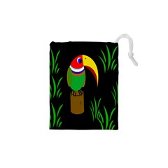 Toucan Drawstring Pouches (XS)