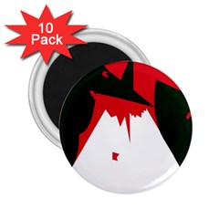 Volcano  2.25  Magnets (10 pack)