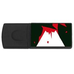 Volcano  USB Flash Drive Rectangular (1 GB)