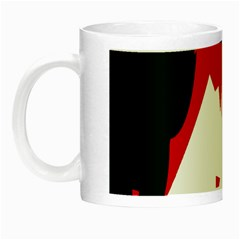 Volcano  Night Luminous Mugs