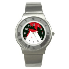 Volcano  Stainless Steel Watch