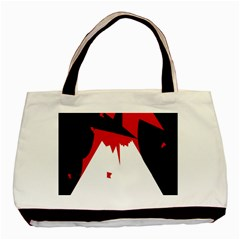 Volcano  Basic Tote Bag (Two Sides)