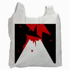 Volcano  Recycle Bag (Two Side)