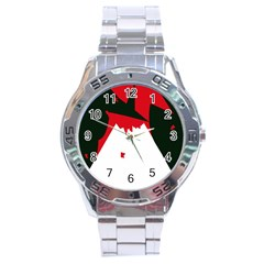 Volcano  Stainless Steel Analogue Watch